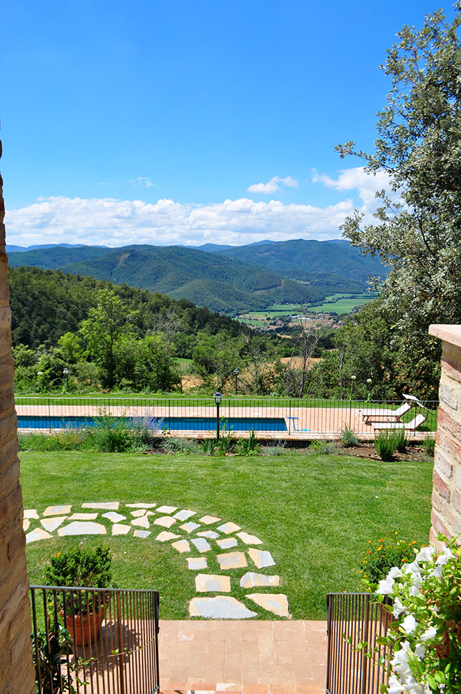 Villa Colonnata - The view